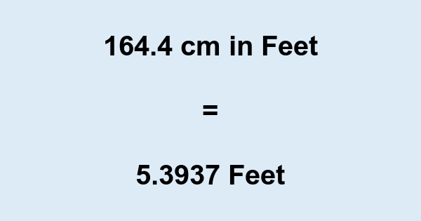 If you know that 1 foot is equal to cm, then you can divide by Any whole number you get from that equation will giveyou how many feet.
