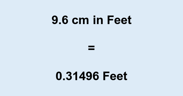 9 foot (ft)= cm. 9 foot to centimeters converter- Length converter. The 9 foot is equal to centimeters. There are cm in 9 foot.9 foot to convert in cm with easy method with out refresh a grounwhijwgg.cf can also now how many cm in 9 foot.